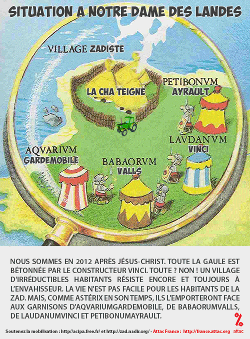 AFFICHES - NDDL - RESSOURCES - Collectif francilien de sou