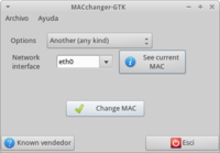 Mac changer medium