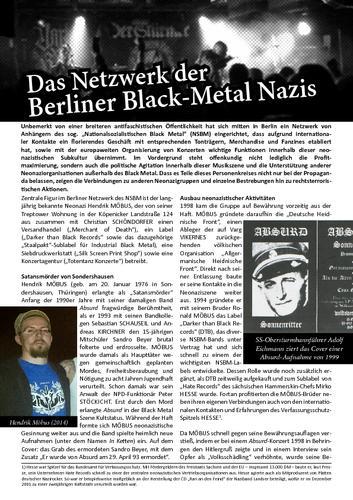 Das Netzwerk der Berliner Black-Metal Nazis