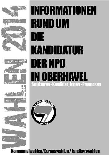 NPD-Kandidaturen im Landkreis Oberhavel