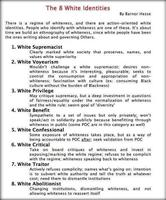 The 8 white identities by barnor hesse medium