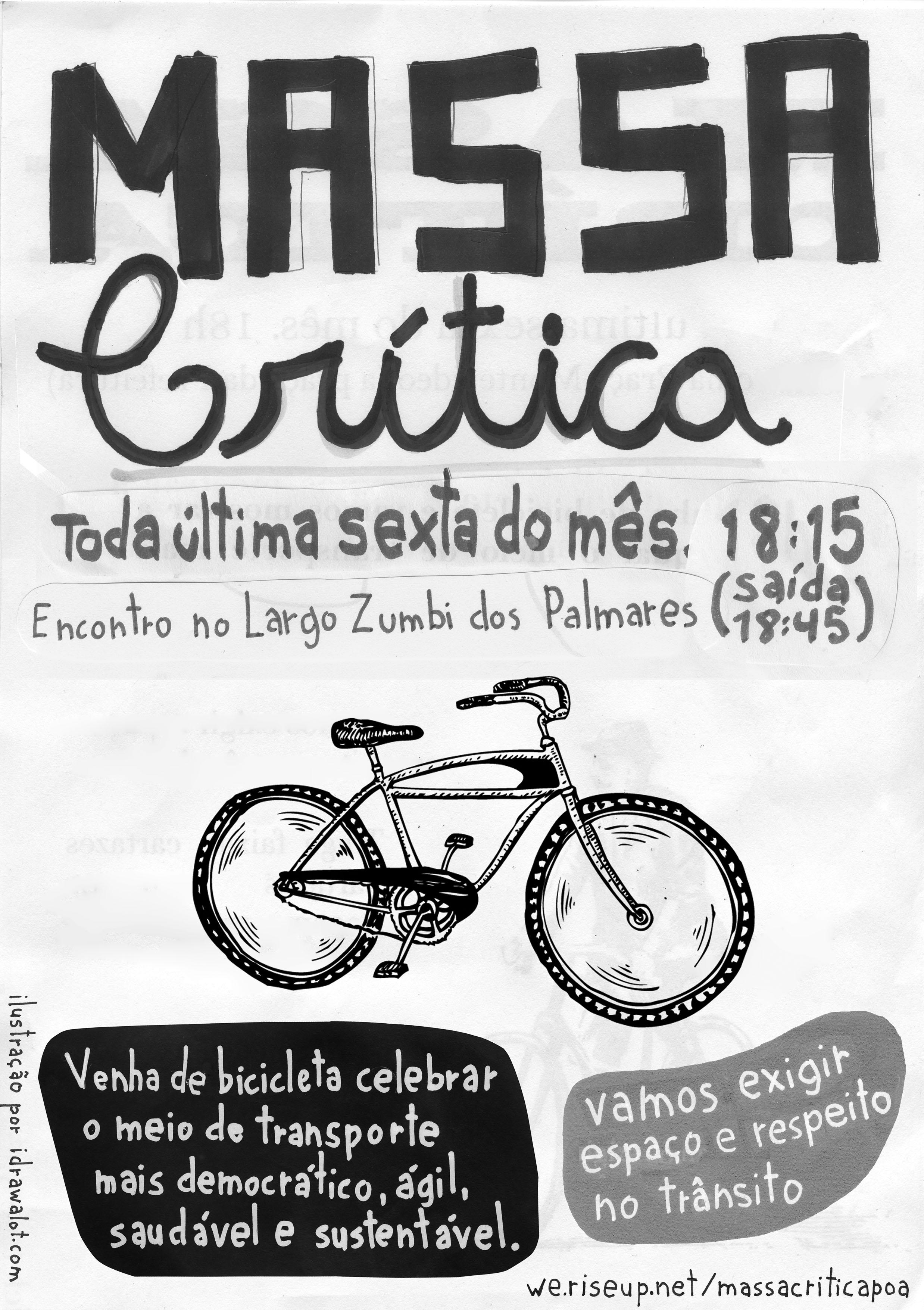 Preferência Cartaz para imprimir - Massa Crítica - Porto Alegr - groups  YX36