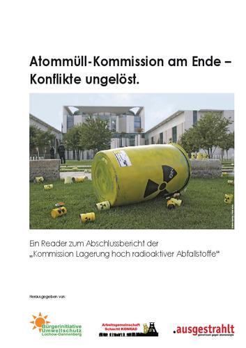 Atommüll-Kommission am Ende –  Konflikte ungelöst