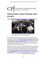 Cpj%2c+2011.+tunisia+invades%2c+censors+facebook%2c+other+accounts medium