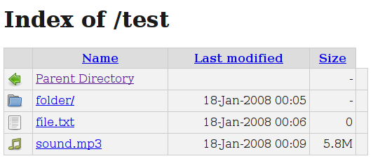 Disable directory indexing on Apache? - Server Fault