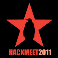 Hackmeet+sticker+red+black medium